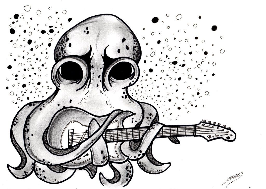 John frusciante tattoo octopus