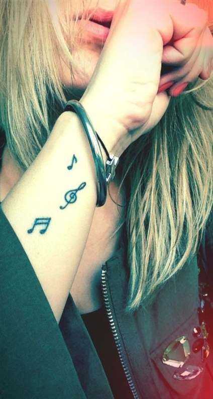 Photo of 55+ Ideas Tattoo Music Wrist Note