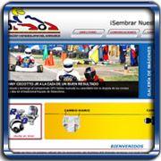 Organización:   Karting Al Día;   Ubicación:   Maracay - Venezuela;   Enlace:   http://kartingaldia.com.ve;   Segmento:  Deportes;   Año:   2011