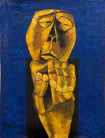 Untitled by Oswaldo Guayasamin