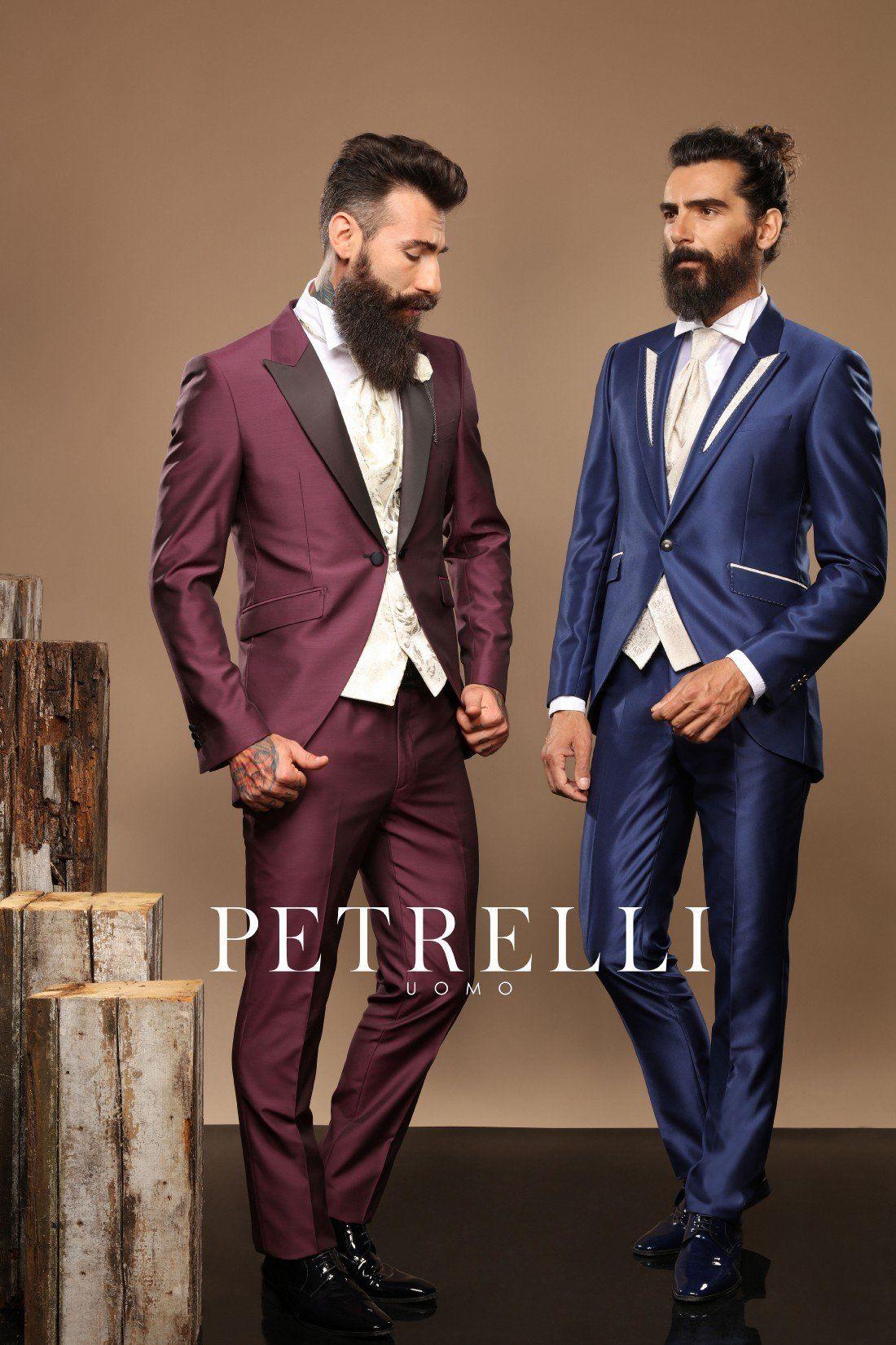 Look esclusivi e ricercati distinguono la nuova collezione abiti da sposo  2017 firmata Petrelli Uomo. ddeb1c1efb8