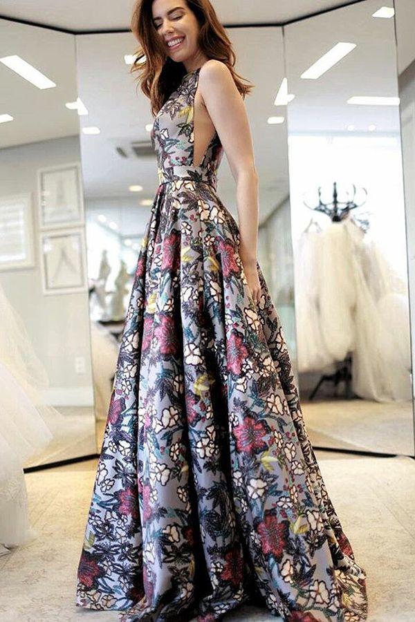Floral Evening Dresses