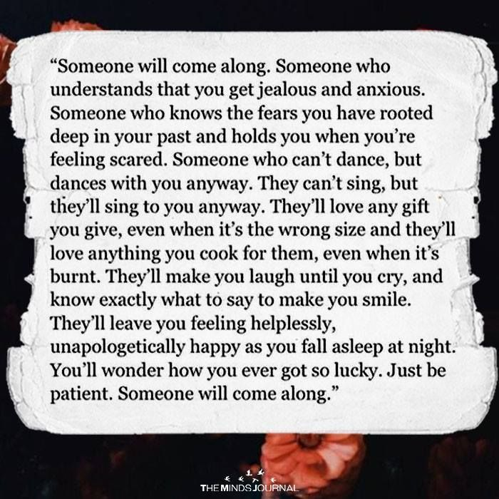 someone will come along mixed feelings quotes giving up quotes