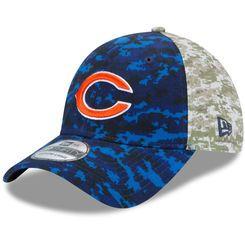 buy online 79814 30084 Men's Chicago Bears New Era Navy/Camo Salute to Service On ...