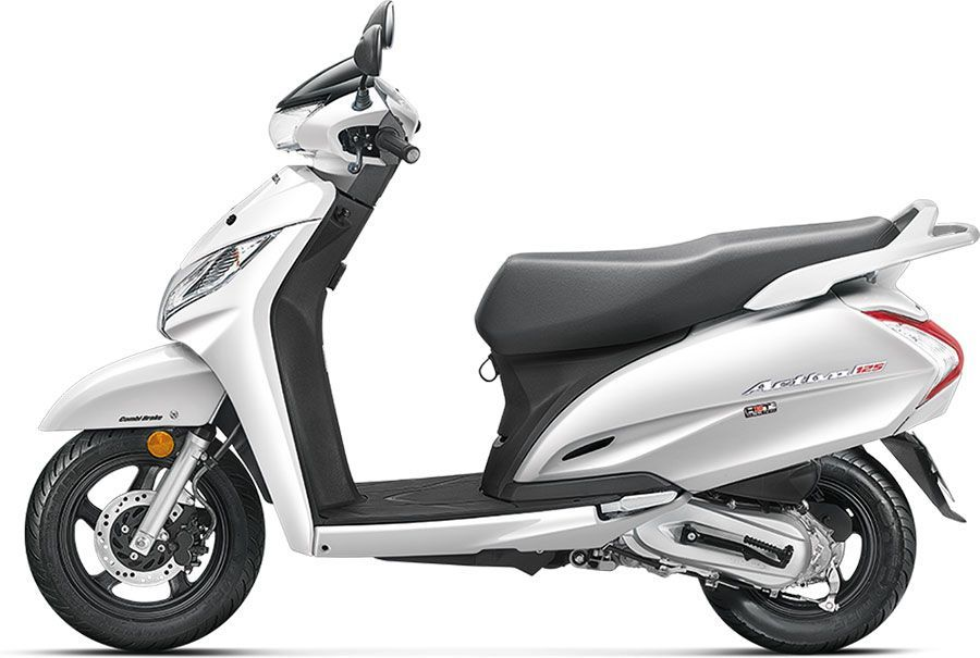 2019 Honda Activa 125 Colors Silver Blue Red Black White