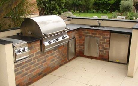 Outdoor Kitchens The Next In Thing Outdoor Kitchen Built In Bbq Grill Outdoor Kitchen Design