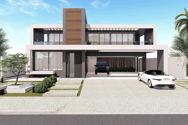 25 Fachada planos de casas