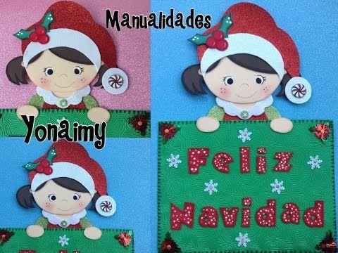 Plantillas y moldes manualidades con foamy todo sobre for Manualidades con goma eva para navidad