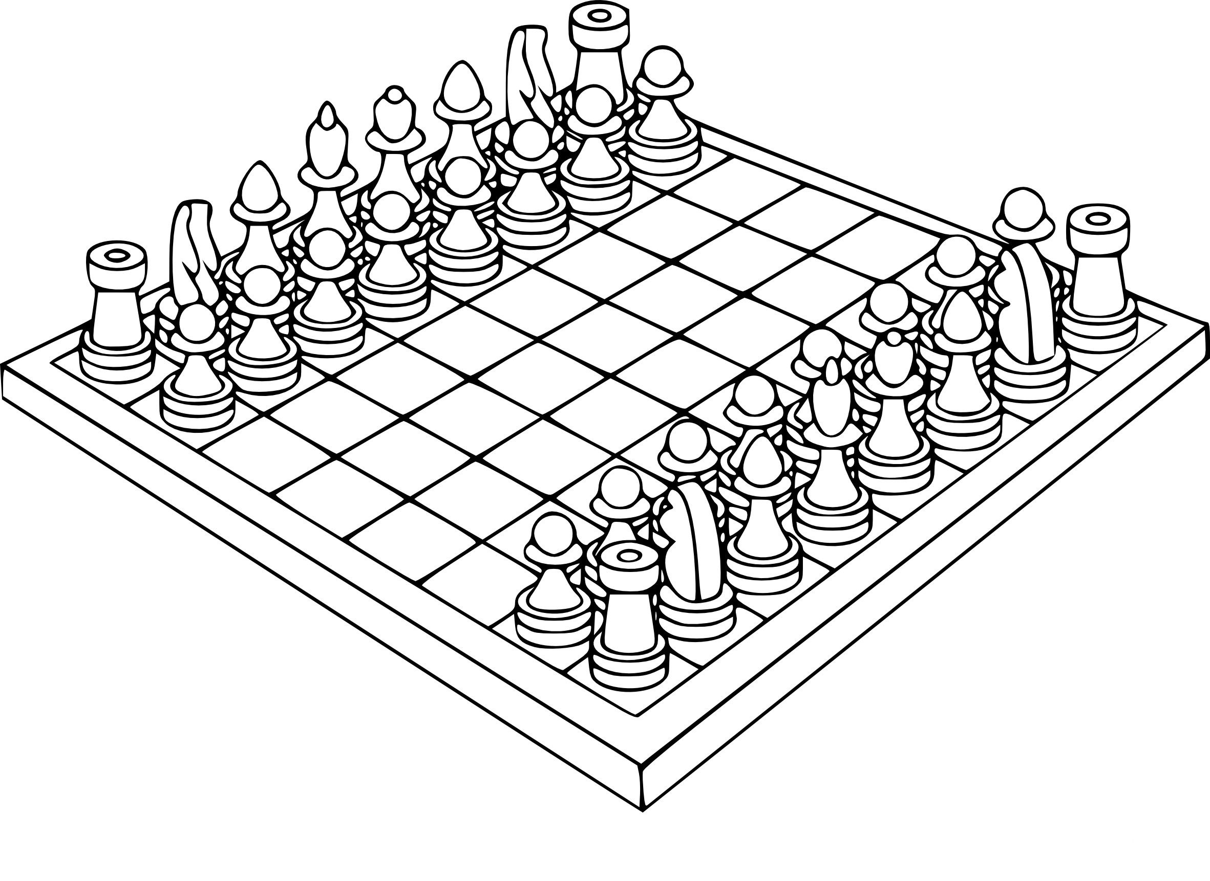 chess coloring pages | Coloring Chess game print | Adult Coloring Pages *The BEST ...