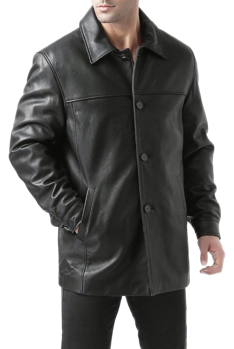 Bgsd Men S Samuel New Zealand Lambskin Leather Car Coat Regular And Big Tall Sizes Car Coat Leather Jacket Men Buy Leather Jacket [ 1400 x 940 Pixel ]