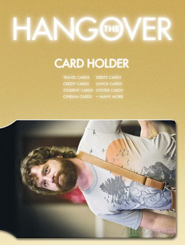 The Hangover Wolfpack Card Holder Wallet  4,99 €