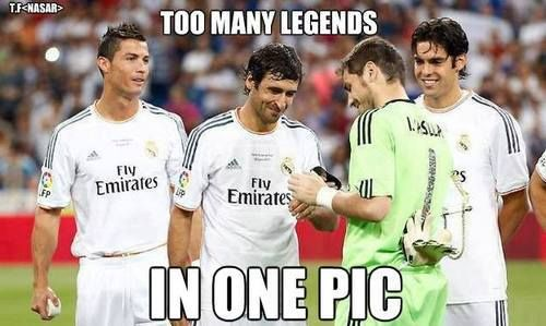 Too Many Legends In One Pic Real Madrid Real Madrid Football Club Real Madrid Football