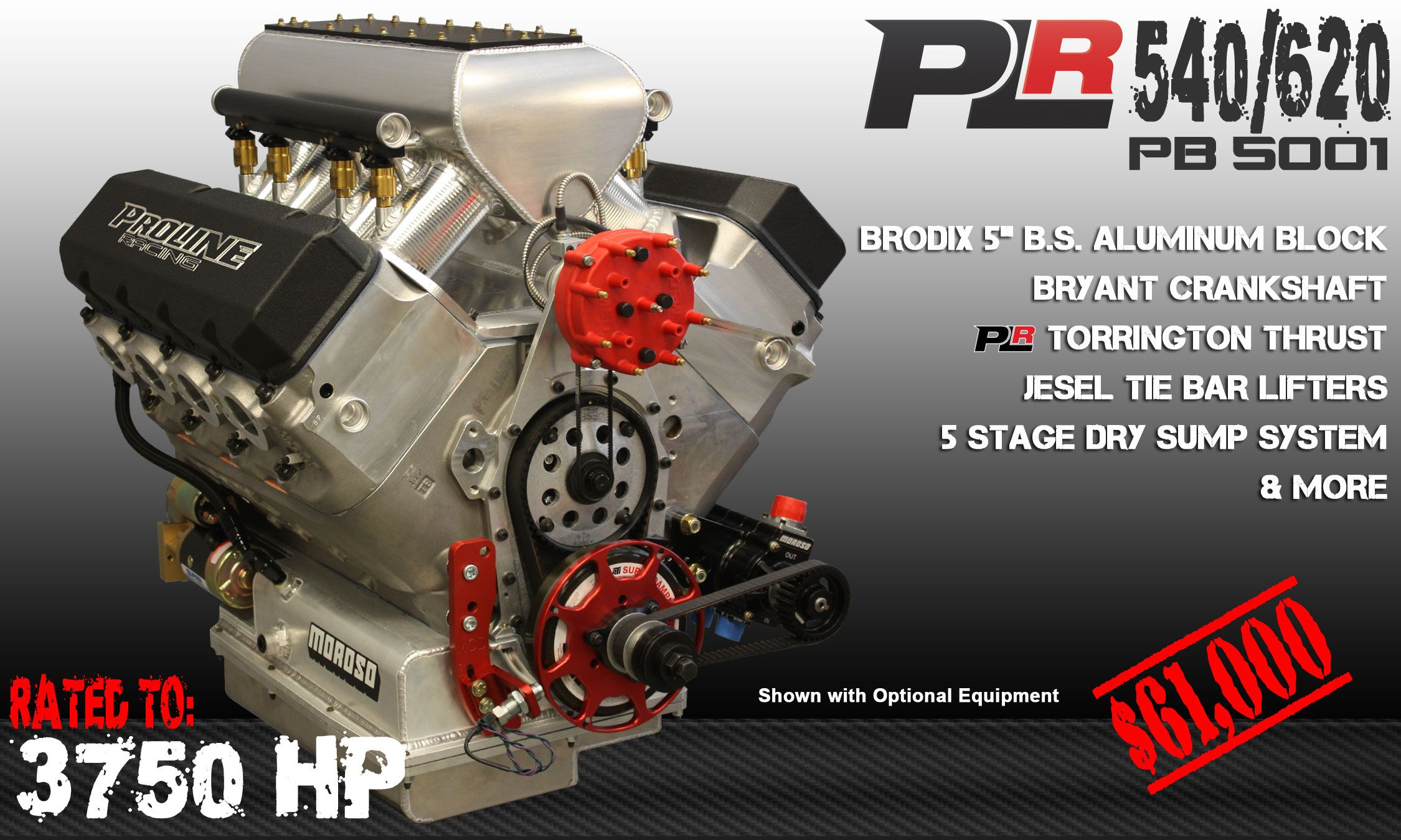 Plr 540 620 Pb5001 3750 Hp Pro Line Racing Sump Graphic Card Engineering