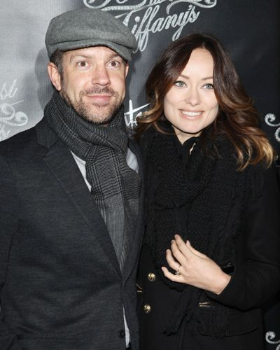 See Olivia Wilde And Jason Sudeikis S Cutest Couple Photos Olivia Wilde Jason Sudeikis Olivia Wilde Style
