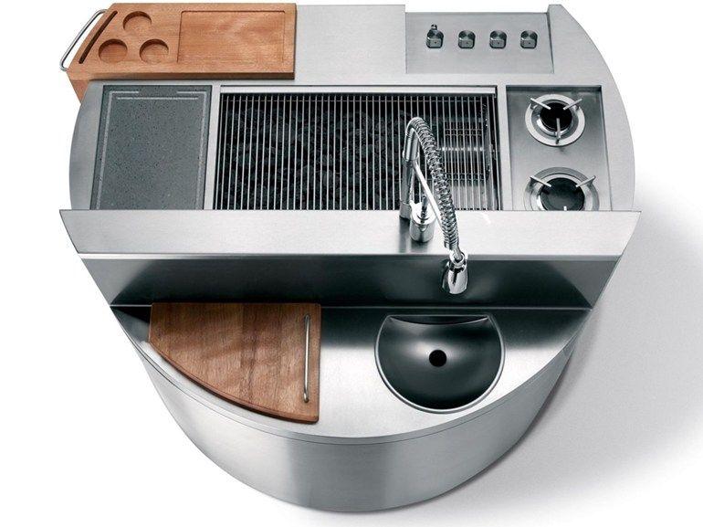 Cocina para exteriores CHEOPE - Metalco | 061 EA-KITCHENS MODERN ...