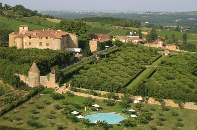 Château de Bagnols, an enchanting 13th century medieval castle set in the heart of Beaujolais, France.