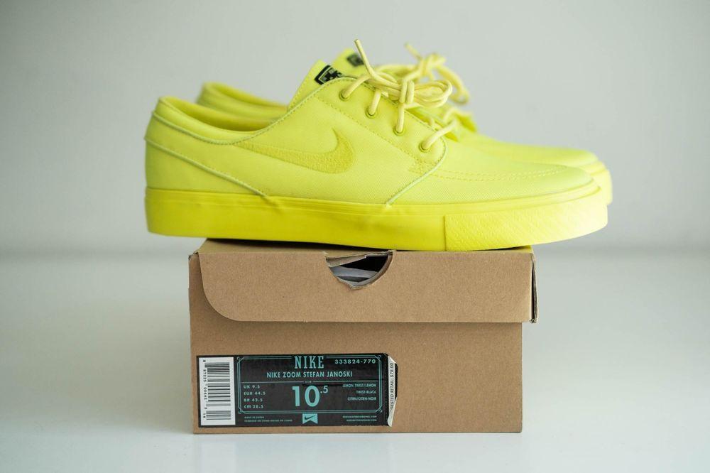 2d033c6a824a19 Nike SB Janoski Lemon Twist size 10.5 333824-770  fashion  clothing  shoes