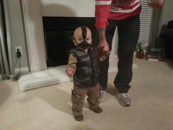 baby bane costume too cute - Halloween Costumes Bane