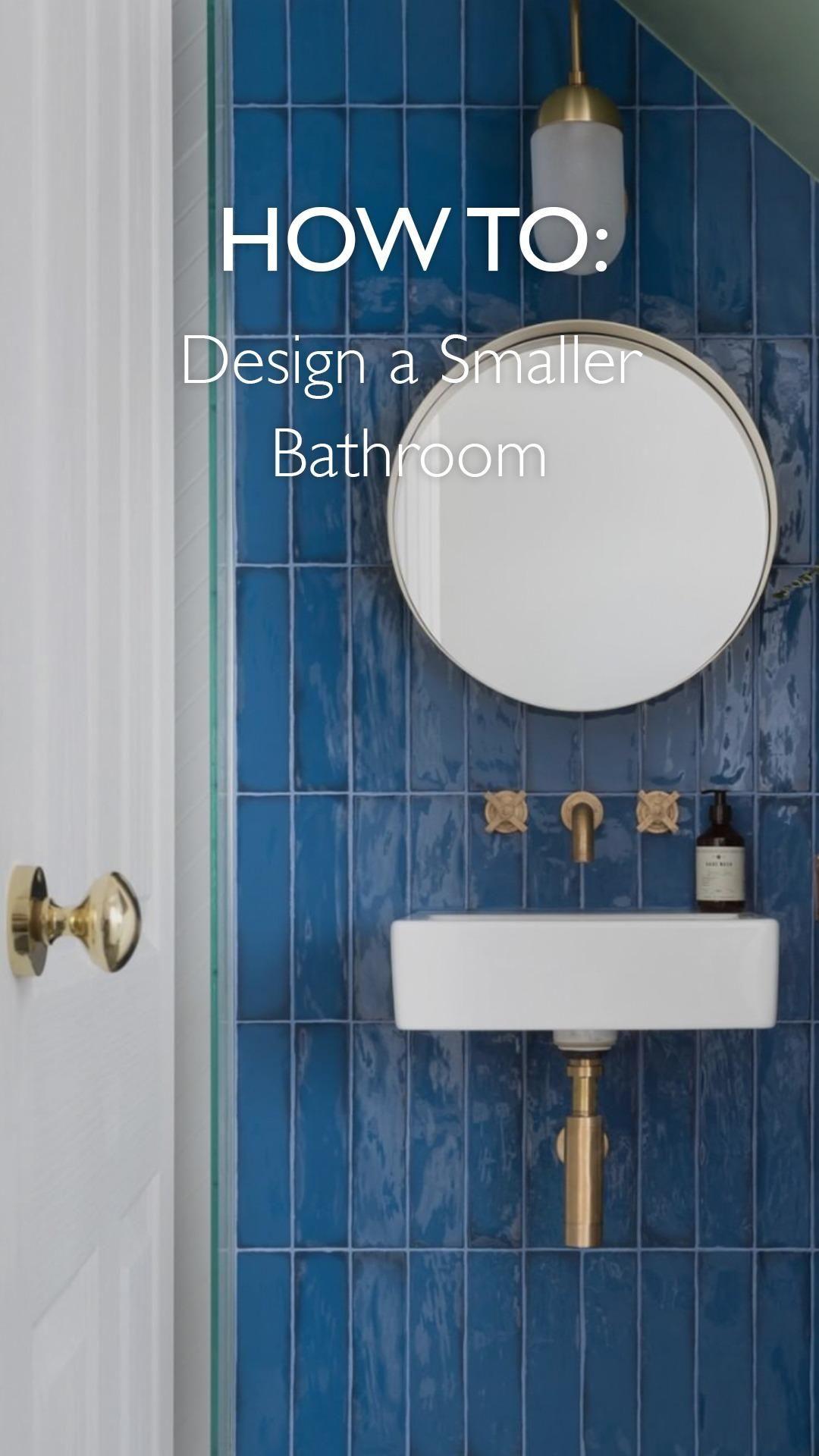 Photo of Smaller Bathroom Design Ideas