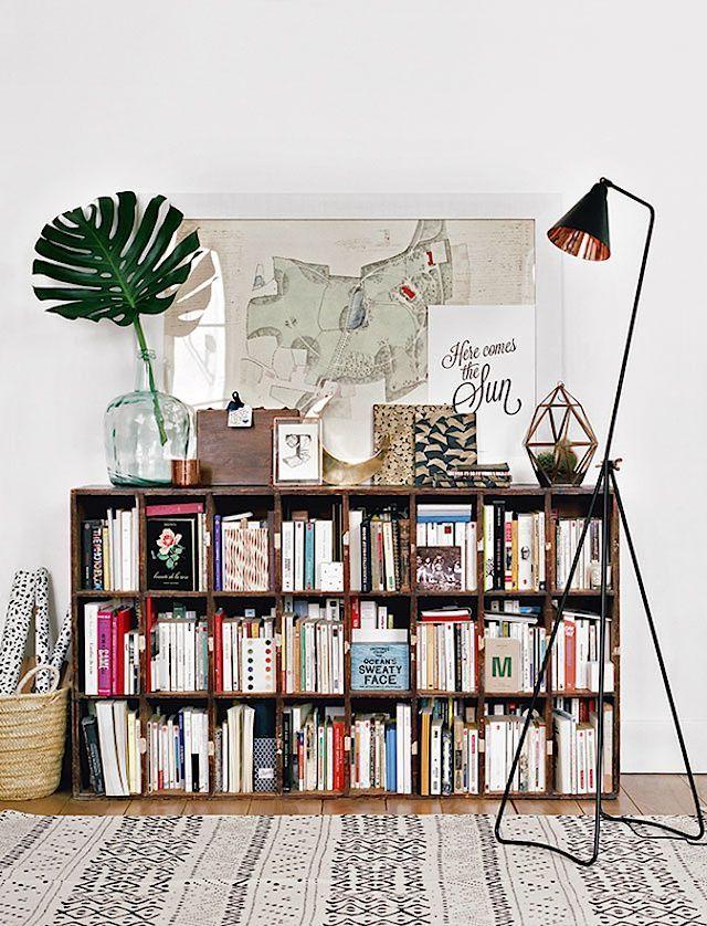 The perfect blend of modern and traditional in a Paris home (my - einrichtungsdeen fur hausbibliothek bucherwand