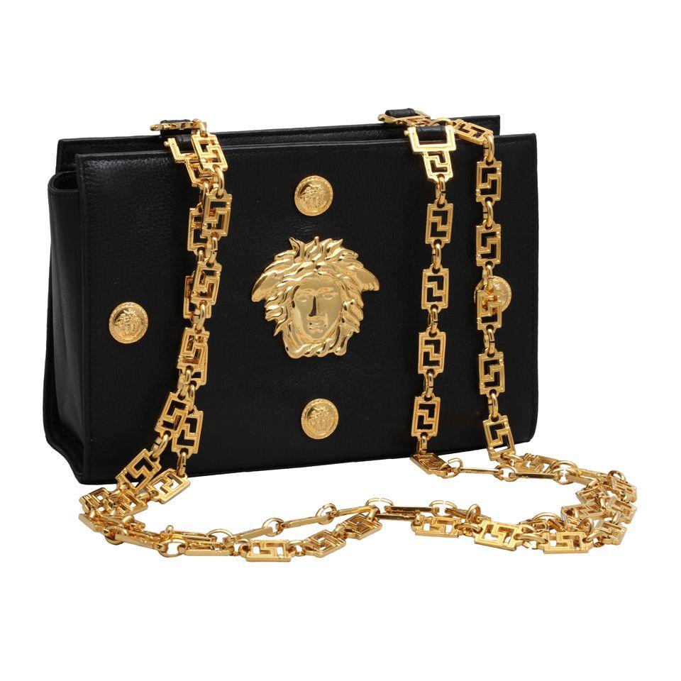 Vintage Gianni Versace Couture Medusa Bag The Wolf Of Wall Street Memorabillia