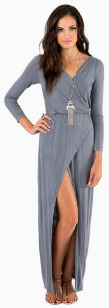 Mimi Maxi Wrap Dress - Lyst