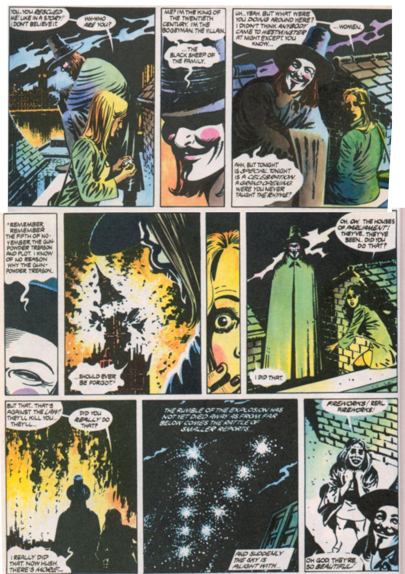 Pin By Hannah Rowell On Ideas Are Bulletproof Graphic Novel V For Vendetta Comic V For Vendetta