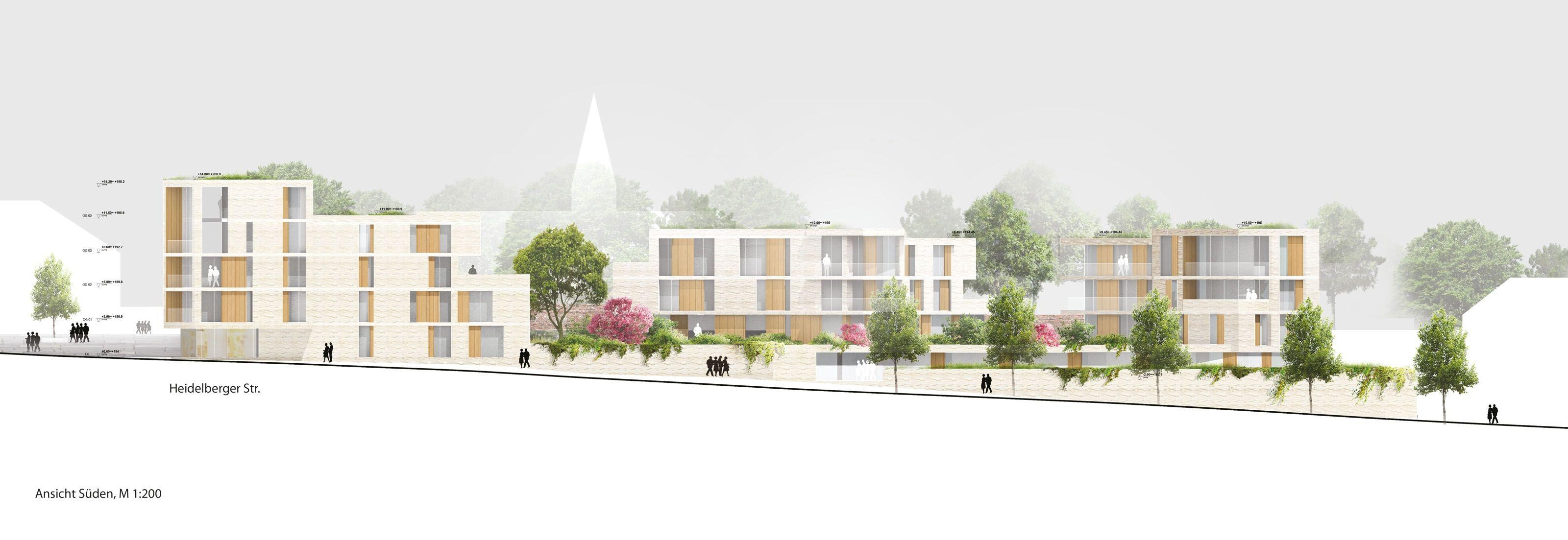 Architektur Ansicht 2 preis ansicht süden haascookzemmrich studio2050 freie