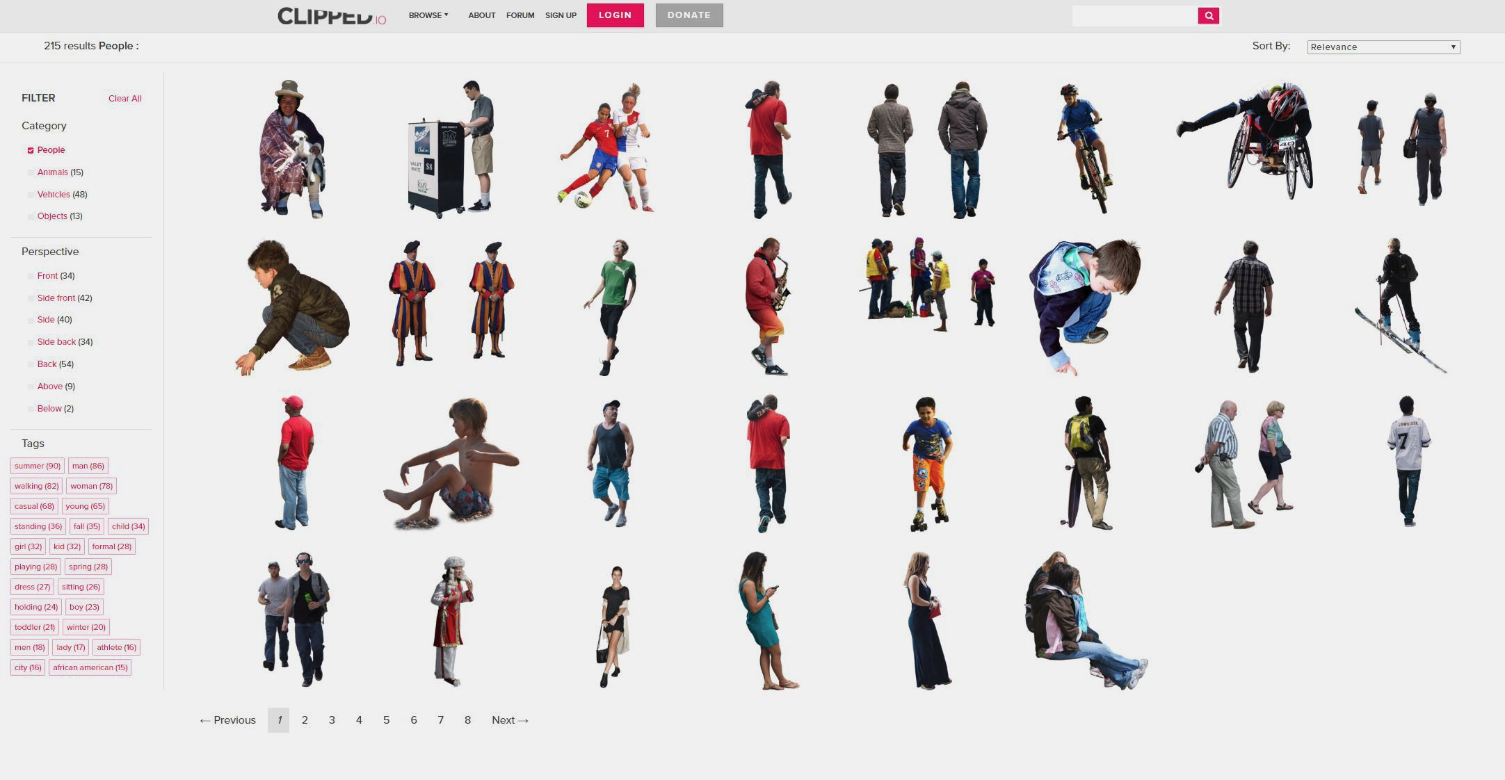 Cutout People 2017 Visualizing Architecture People Cutout Cutout People