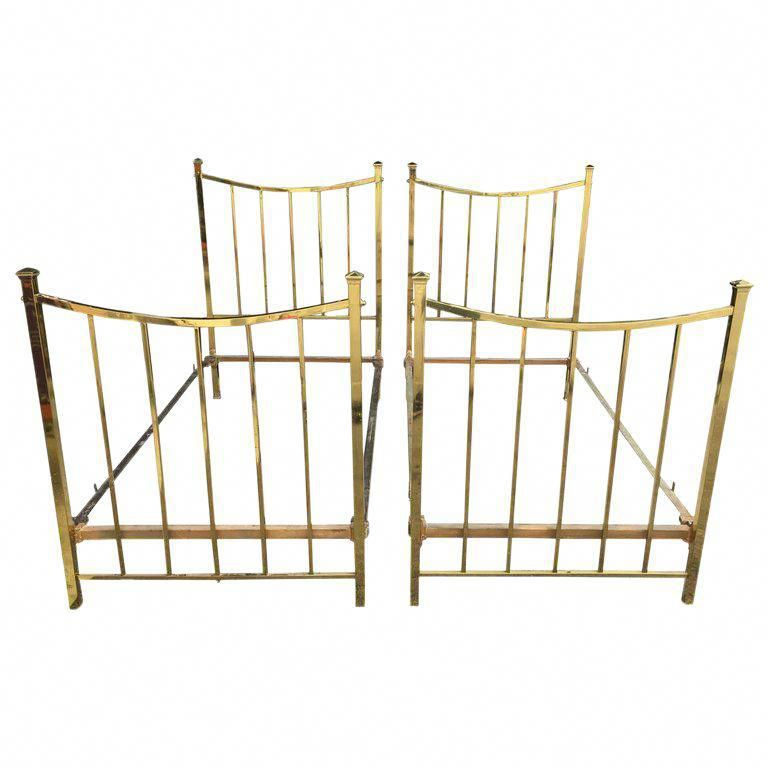 Antique Brass Twin Bed Frame Bed Frame Bed Antiques