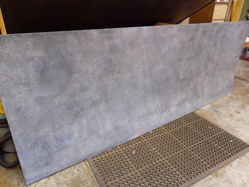 121 Zinc Sheet Typical Light Patina 3000mm X 1100mm Zinc Sheet Zinc Countertops Zinc Table