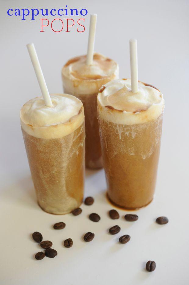 Cappuccino Pops