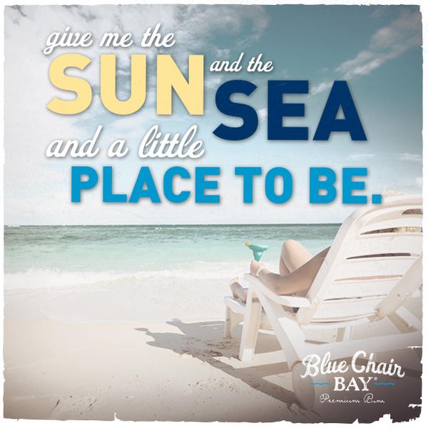 Blue Chair Bay Rum Bluechairbayrum Blue Chair Beach Chair Umbrella Beach Quotes