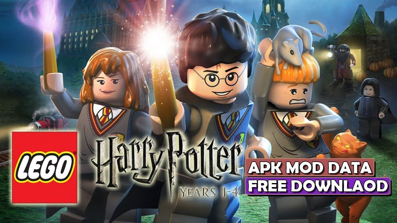 How to download LEGO Harry Potter Years 14 Apk+Data free