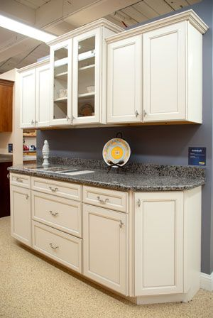 Aristokraft Durham On Toasted Almond Laminate Kitchen Cabinet