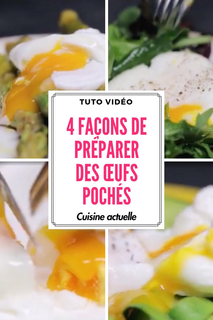 4 Facons De Preparer Des œufs Poches Recettes De Cuisine Trucs