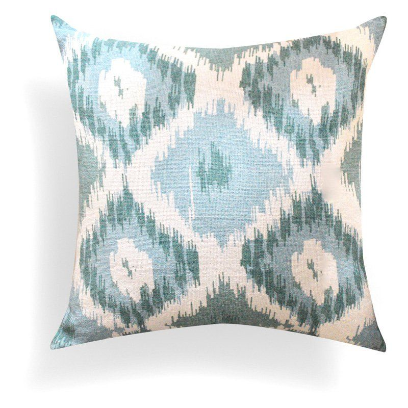 A1 Home Collections Hand Crafted Shaded Ikat Designer Throw Pillow ...
