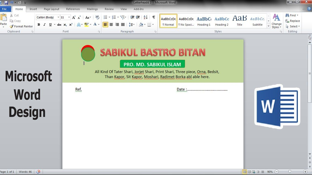 Pin On Business Pad Design