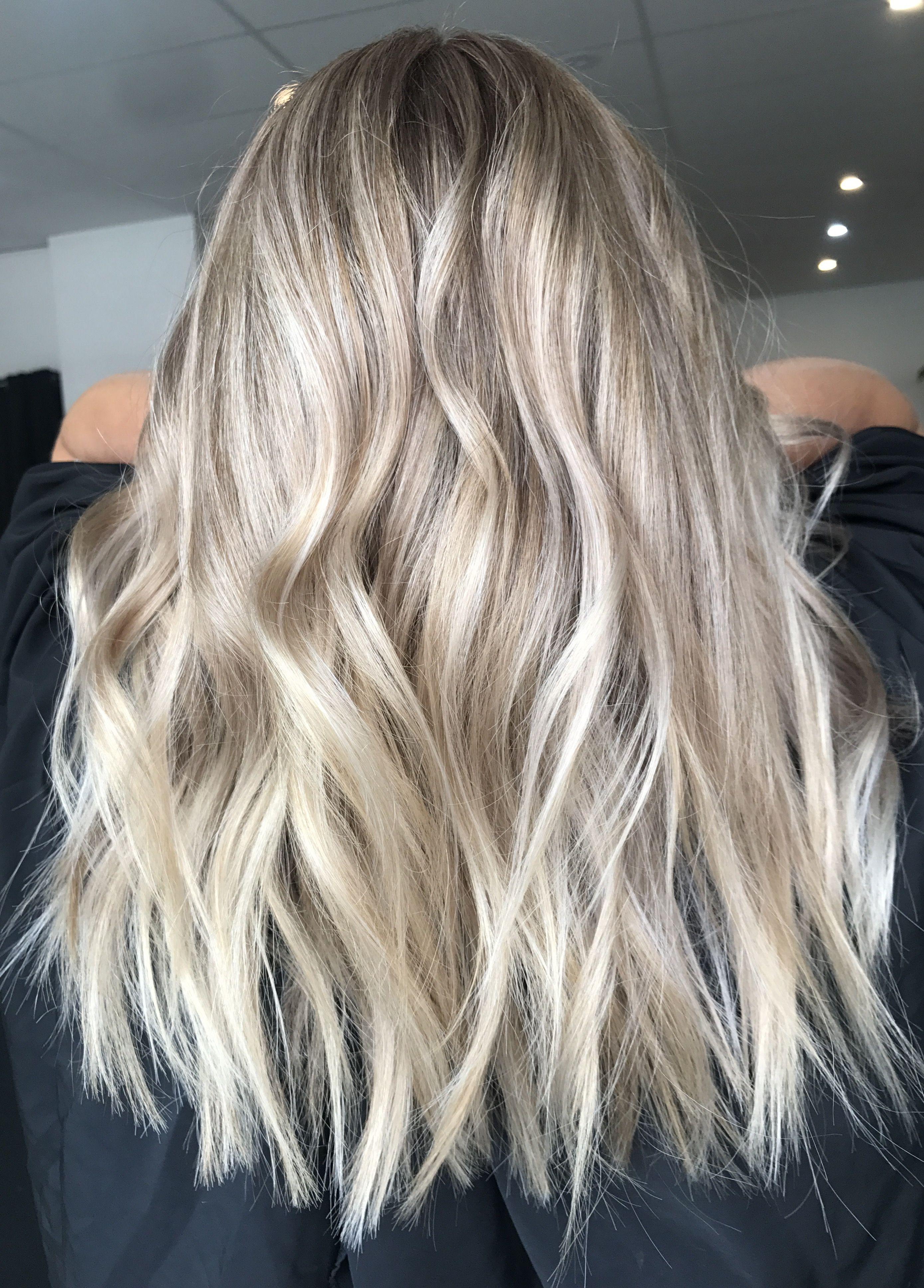 Blonde balayage, long hair, cool girl hair ️ Lived in hair ...