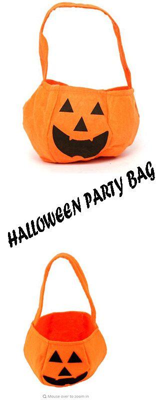 Halloween# Party Supplies Non-woven Fabrics #Pumpkin Bags #Halloween