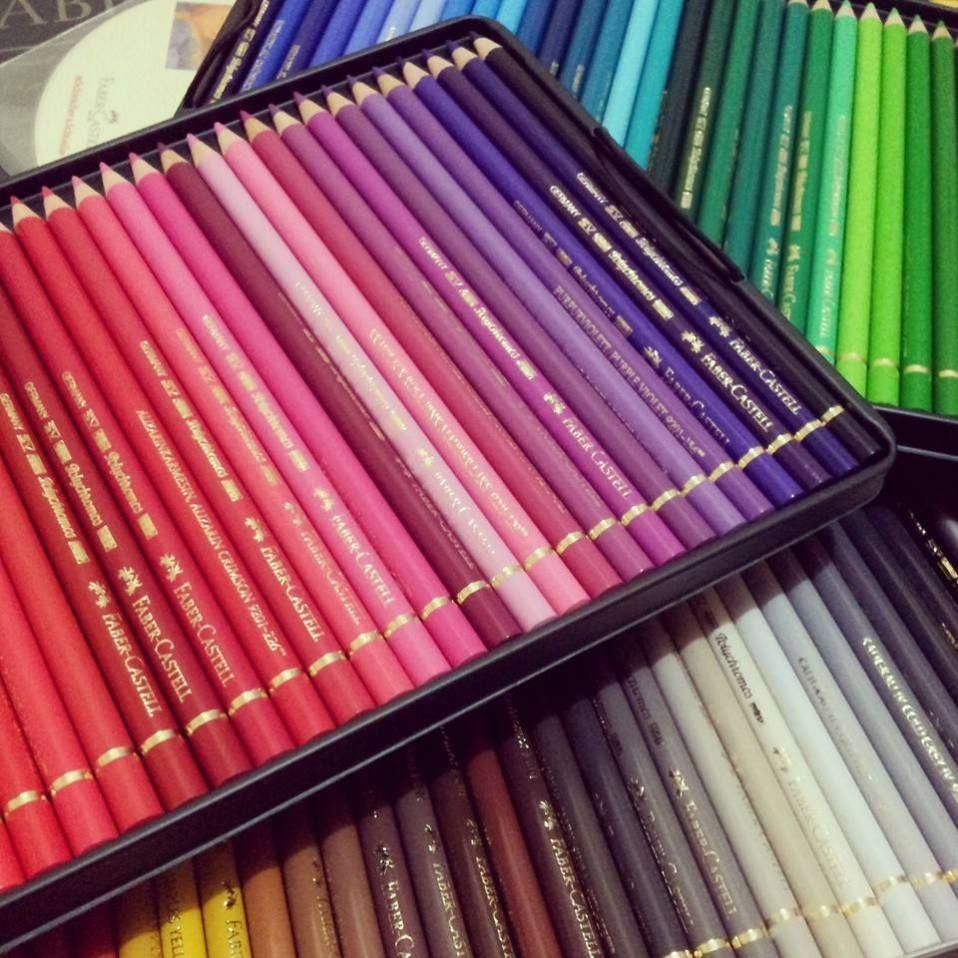 Faber Castell Polychromos Colour Chart Color Pencil Art Faber