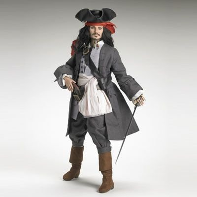 Captain Jack Sparrow™ Figure by Robert Tonner