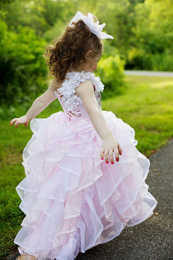 pink and white ruffle dress...ella would LOVE this