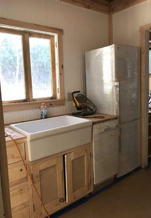 The House On Cottage Grove Reno Update Cottage Kitchen Renovation Log Cabin Kitchens Cottage Renovation