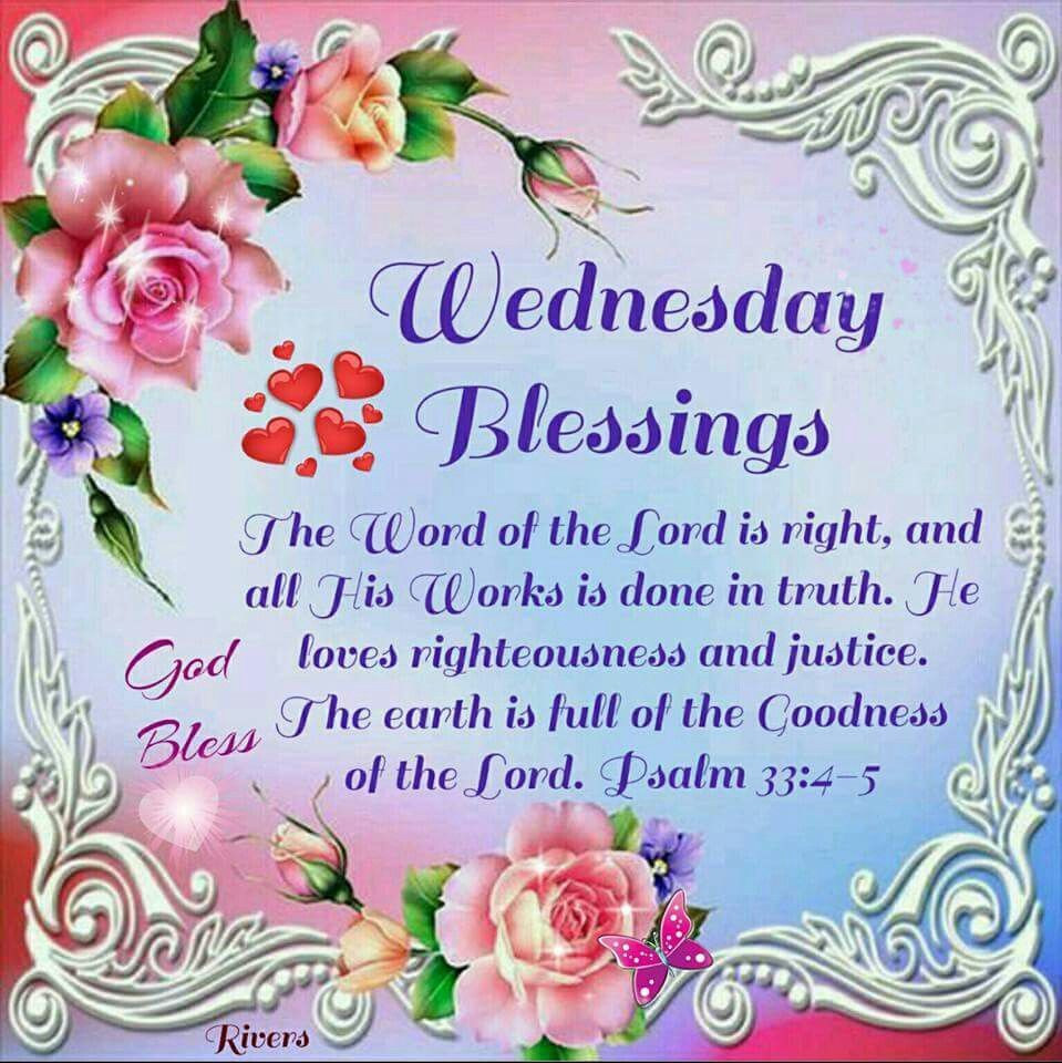 wednesday blessings | Wednesday Blessings Pictures, Photos, and Images for  Facebook, Tumblr… | Blessed wednesday, Blessed quotes inspiration, Happy  wednesday quotes