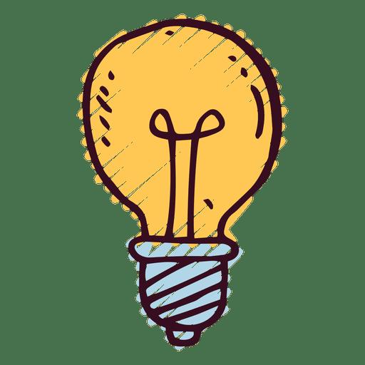 Lightbulb Doodle Icon Png Image Download As Svg Vector Eps Or Psd Get Lightbulb Doodle Icon Transparent Png For Doodle Icon Doodle Png Custom Tshirt Design