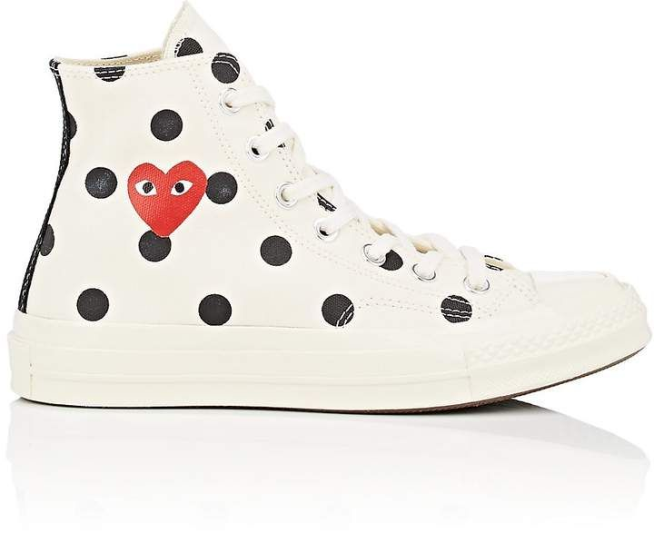 CDG play COMME des GARCONS PLAY x Converse 1970s All Star Classic canvas shoes