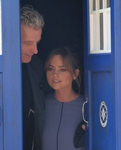 Peter and Jenna on the World Tour.
