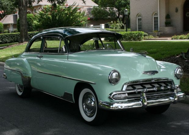 1952 Chevrolet Deluxe Deluxe Coupe Image 1 Of 50 Chevrolet Classic Cars Classic Cars Muscle
