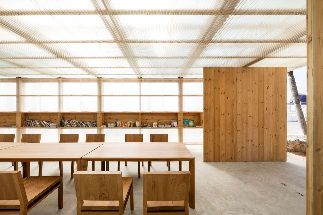 The Public Library for Bangsaen Designed by DBALP